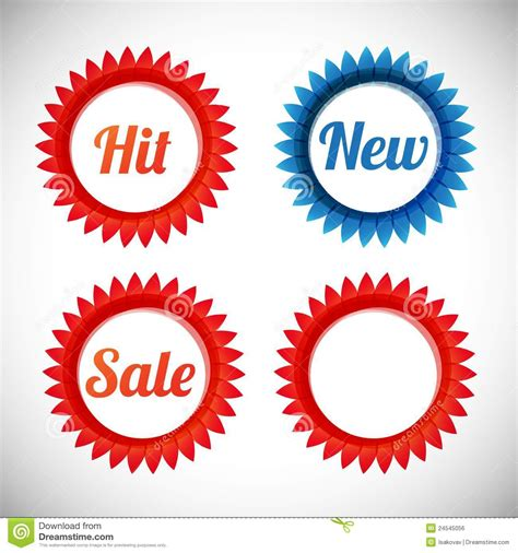 vector royalty free stock images image 2183529 vector stickers sale new hit stock vector image 24545056