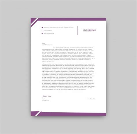 Business Letterhead Vector Free 30 Best Free Letterhead Design Mockup Vector And Psd Templates
