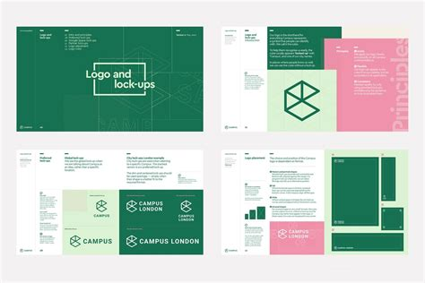 layout brand guidelines brand book brand guideline inspiration bp o brand