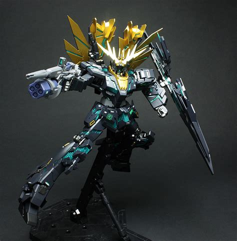 P Bandai Mg 1100 Banshee Norn Gundam Battle Ver Limited p bandai hobby shop exclusive mg 1100 rx 0 n unicorn