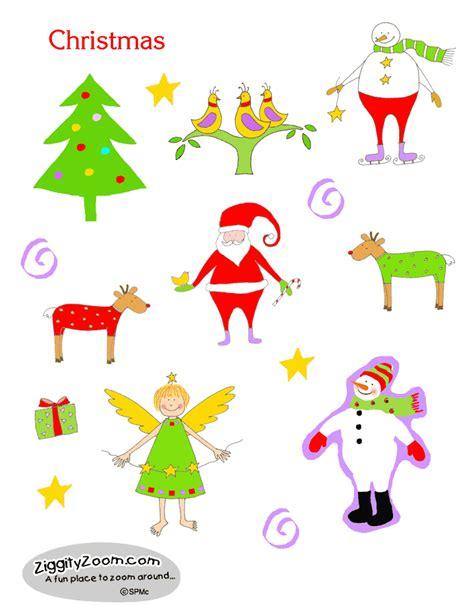 Printable Stickers Christmas | christmas stickers
