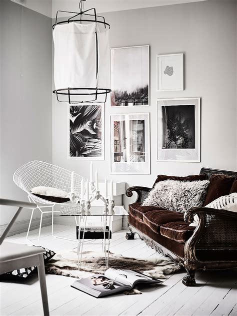 edgy home decor edgy contrast for white home decor style