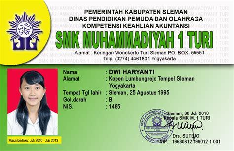 contoh kartu nama word job seeker contoh id card mahasiswa job seeker