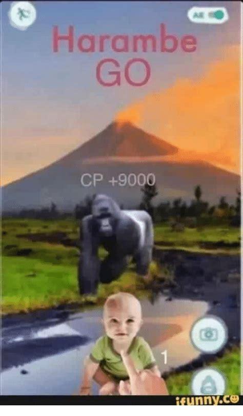 I Funny Memes - harambe go cp 9000 ifunny co dank meme on sizzle