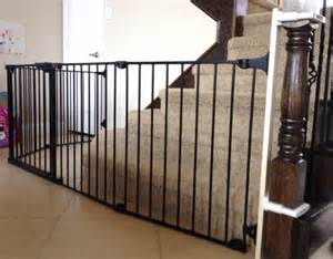 child gate for stairs with banister custom large and wide child safety gates baby safe homes