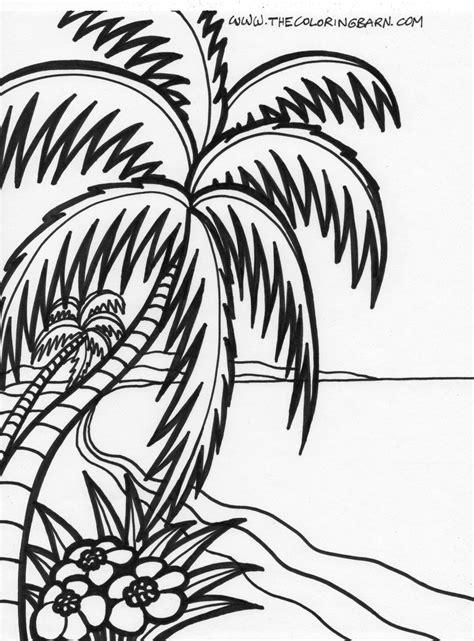 tropical silhouettes tropical silhouettes beach