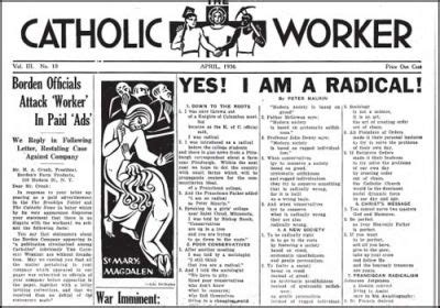 Dorothy Day And The Catholic Worker Movement Centenary Essays by The Catholic Worker At 75 The Indypendent