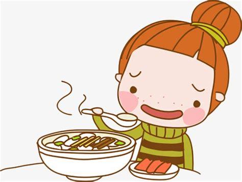 imagenes motivadoras para no comer personaje de dibujos animados chica ilustraci 243 n comer
