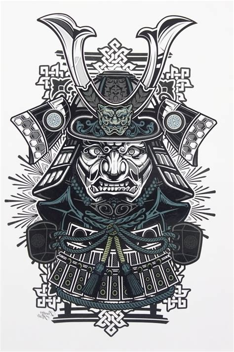 samurai design tattoo 18 samurai designs