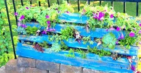 how to make a vertical garden from a pallet hometalk