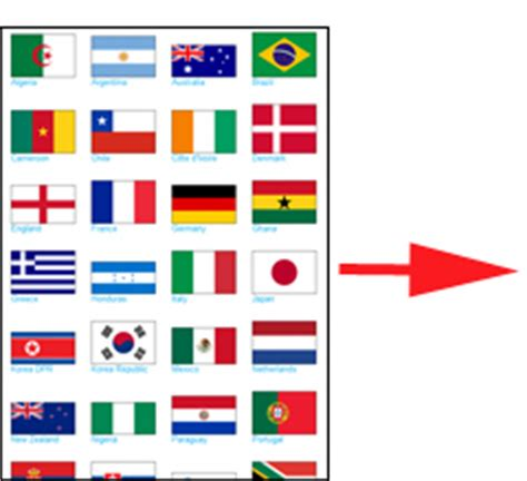flags of the world game printable printable flags printable flags
