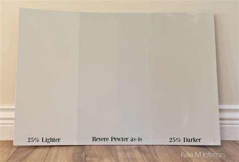 how to lighten and darken a paint colour benjamin revere pewter m interiors e