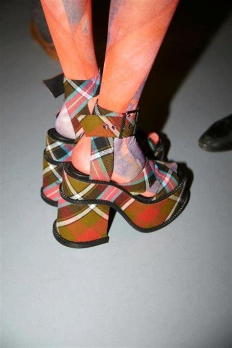 Tartan Platform Sandal 76 best images on stuff ha ha and things