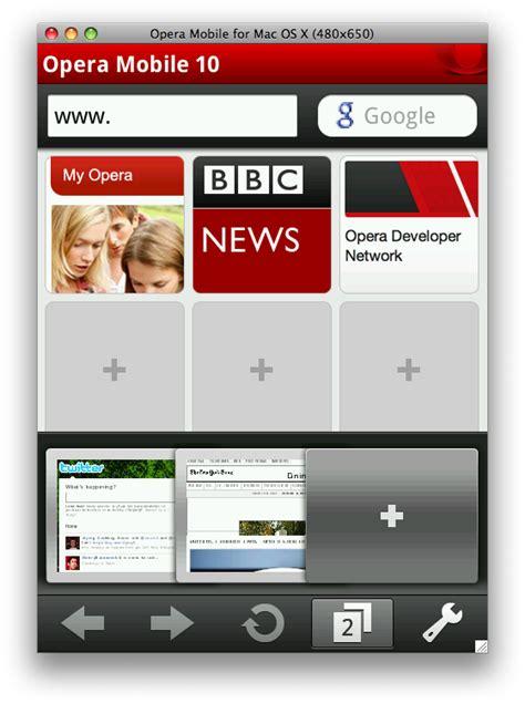 mobile browser emulator opera mobile emulator released browser