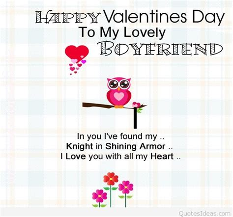 valentines day quotes boyfriend happy s day wishes for him 2016