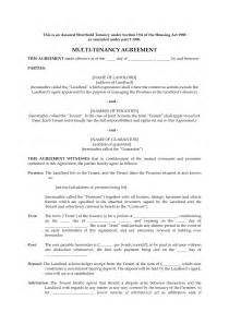 Tenancy Agreement Template Uk Free Download 10 best images of uk tenancy agreement form free parking