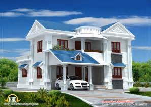 House Models And Plans Beautiful House Elevation 2317sq Ft Kerala Home