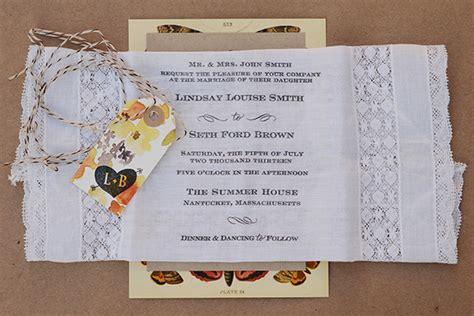 diy tutorial rubber st butterfly handkerchief wedding