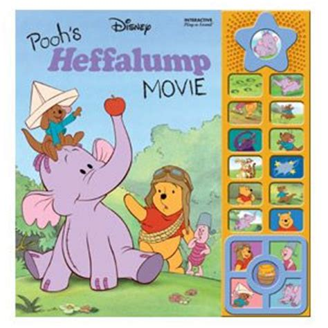 E Sound Book 10 Theme playhouse disney pooh s heffalump interactive play a sound storybook with a table