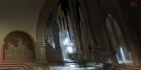 Home Interior Sites cathedral interior video games artwork