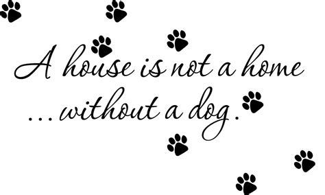 wall decal house is not a home without a quote wall