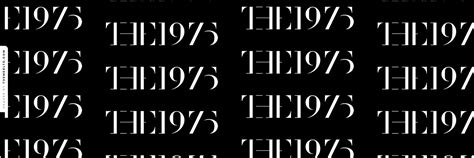 twitter layout the 1975 the 1975 black logo twitter header