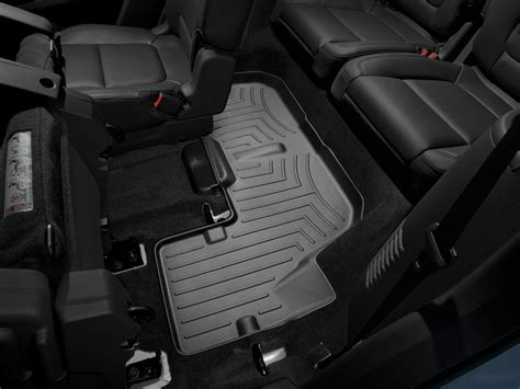 weathertech floor mats floorliner for ford explorer 2017 black ebay