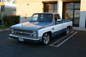 1984 chevy silverado c10 shortbed fleetside gmc