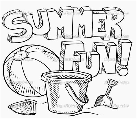 coloring pages for summer summer coloring sheets free coloring sheet