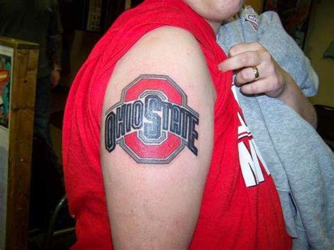 ohio state tattoo designs these 15 college themed tattoos