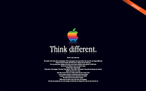 quote roundup a little something different by sandy hall mac think different 3 by subuddha on deviantart