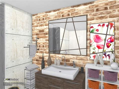 estilo bathroom the sims resource estilo bathroom by artvitalex sims 4