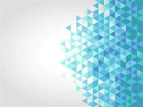 Blue polygonal PPT Backgrounds   Abstract, Blue Templates