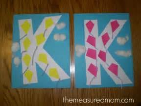 crafts for letter k the measured