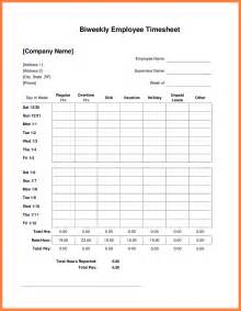 timesheet invoice template 8 bi weekly timesheet template invoice exle 2017