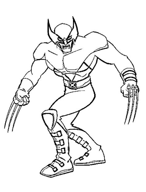 wolverine coloring pages for free wolverine color pages coloring home