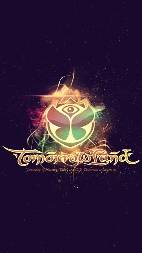 029 5 Wallpaper Sticker the gallery for gt tomorrowland logo vector