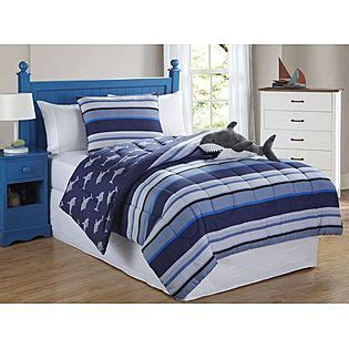 friends shark stripe 3 comforter set