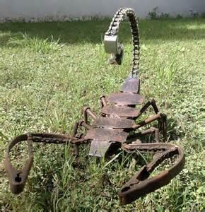 yard art ideas from junk miller welding projects