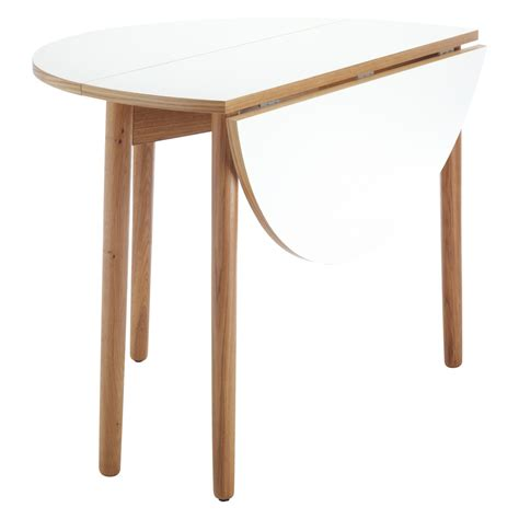 Suki 2 4 seat white folding round dining table buy now at habitat uk