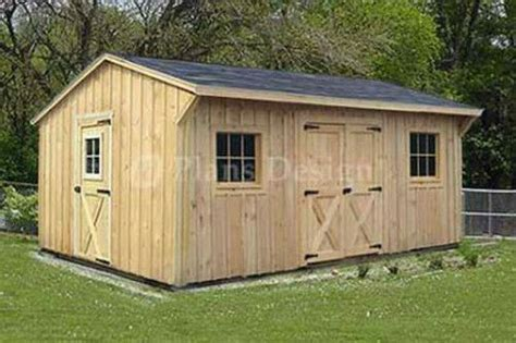 utility storage saltbox shed plans material