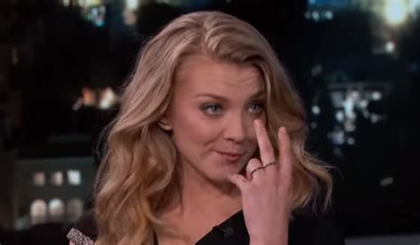 Where Does Natalie Dormer Live Is Natalie Dormer Dropping Jon Snow Hints The Blemish