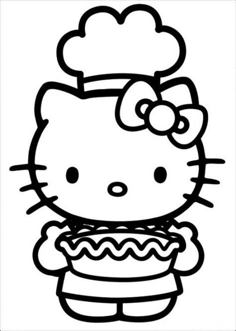 hello kitty nurse coloring pages free printable hello kitty coloring pages picture 59