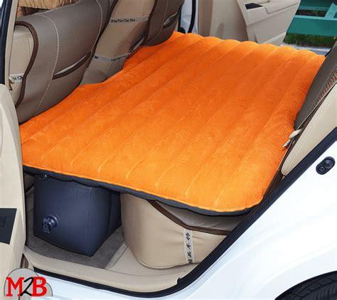matelas voiture matelas gonflable de voiture floqu 233 orange m2b gonflable