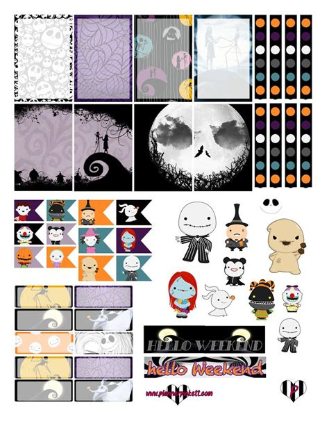 free printable halloween planner stickers 345 best art journal mixed media printables images on