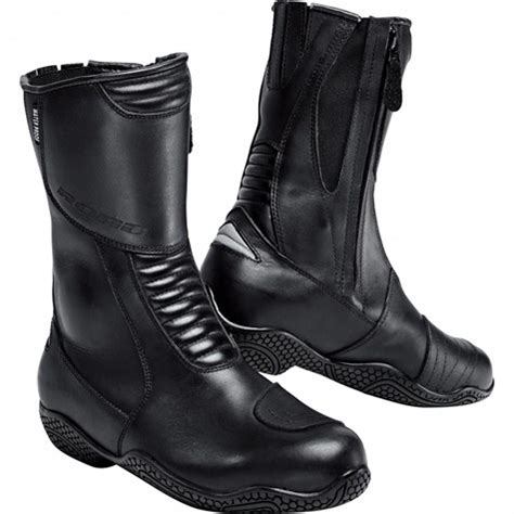 road ladies touring leather boots