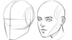 how to draw human head 3 4 view youtube