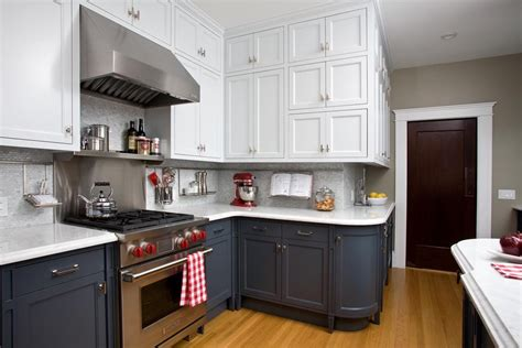 stupefying two tone kitchen cabinets pictures decorating