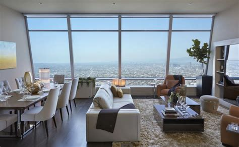 Appartments In La by Luxury Los Angeles Penthouse Apartment Interior