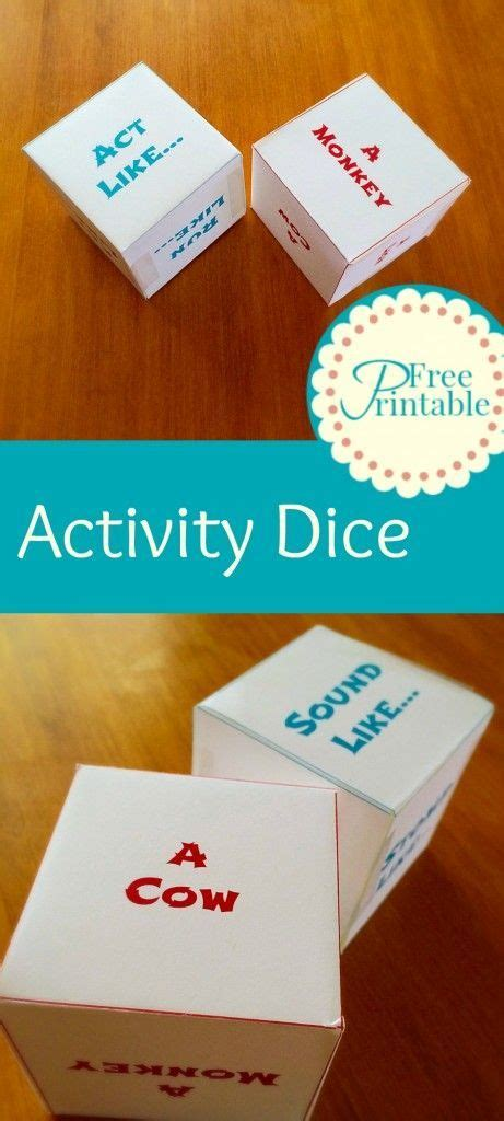 printable dice games for preschoolers printable activity dice animal dice games for kids
